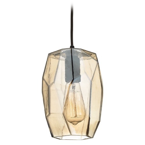 Elk Lighting Elk Lighting Geometrics Oil Rubbed Bronze Mini-Pendant Light 10451/1