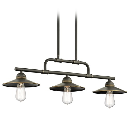 Kichler Lighting Kichler Lighting Westington Olde Bronze Outdoor Hanging Light 49588OZ