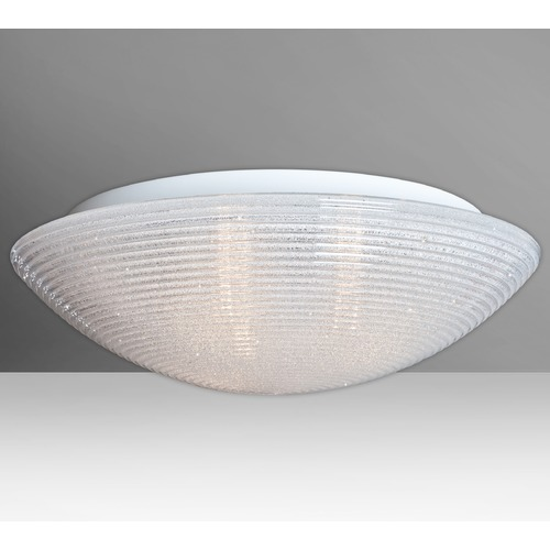 Besa Lighting Besa Lighting Glitter LED Flushmount Light 9116GLC-LED