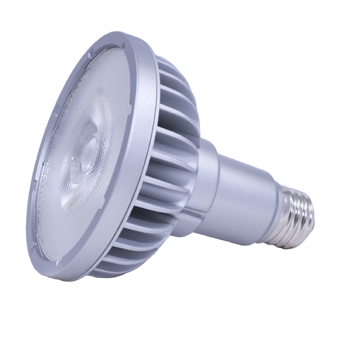 Soraa 18.5W Medium Base LED Bulb PAR38 Narrow Spot 9 Degree Beam Spread 930LM 2700K Dimmable SP38-18-09D-927-03