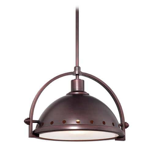 Minka Lavery Pendant Light in Brushed Bronze Finish 2249-576