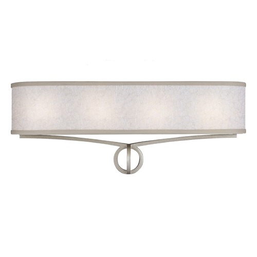 Feiss Lighting Feiss Lighting Parchment Park Dark Silver Bathroom Light VS21204SL