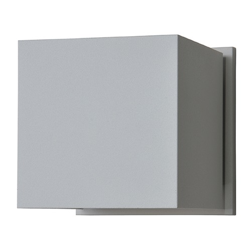 Access Lighting Access Lighting Square Satin Nickel LED Outdoor Wall Light 20399LEDMG-SAT
