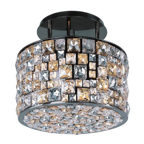 Maxim Lighting Maxim Lighting Fifth Avenue Luster Bronze Semi-Flushmount Light 39791JCLB