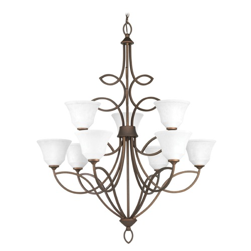 Progress Lighting Progress Lighting Monogram Roasted Java Chandelier P4738-102