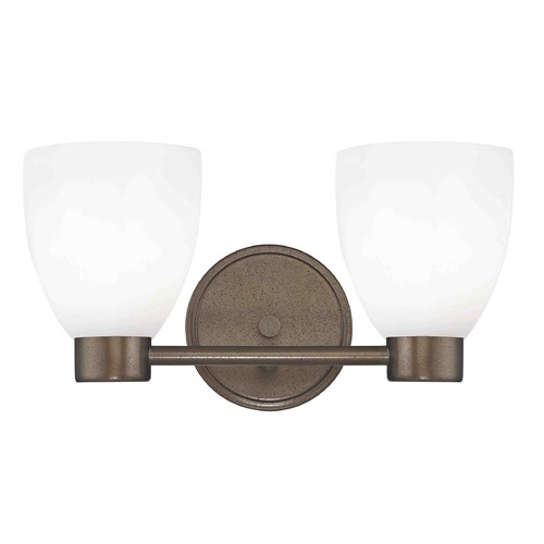 Design Classics Lighting Design Classics Lighting Aon Fuse Heirloom Bronze Bathroom Light 1802-62 GL1024MB