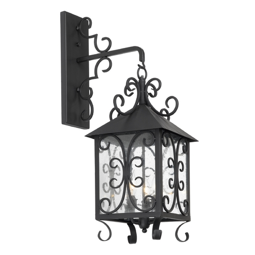Elk Lighting Outdoor Wall Light with Clear Glass in Espresso Finish 8152-E
