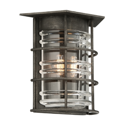Troy Lighting Troy Lighting Brunswick Aged Pewter Outdoor Wall Light B3792