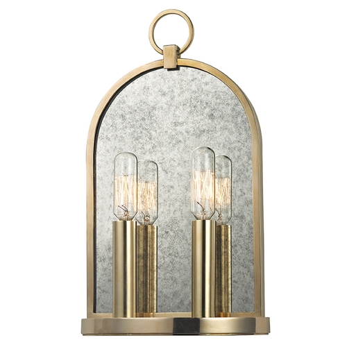 Hudson Valley Lighting Hudson Valley Lighting Lowell Aged Brass Sconce 092-AGB