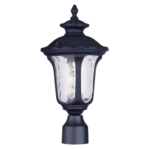 Livex Lighting Livex Lighting Oxford Black Post Light 7848-04