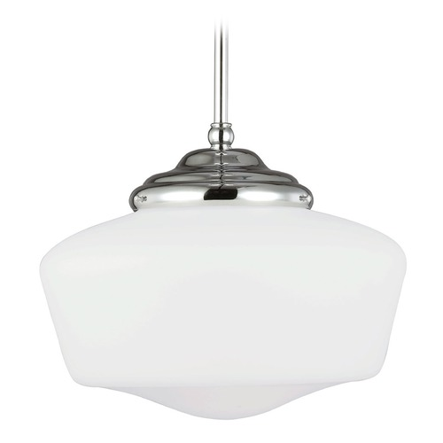 Sea Gull Lighting Sea Gull Lighting Academy Chrome Pendant Light 65438BLE-05