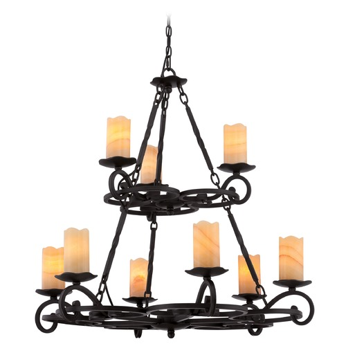 Quoizel Lighting Quoizel Armelle Imperial Bronze Chandelier AME5009IB