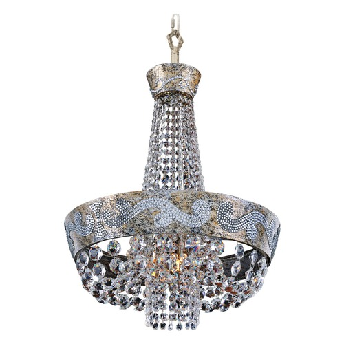 Allegri Lighting Romanov 18in Dia Chandelier 024051-006-FR001