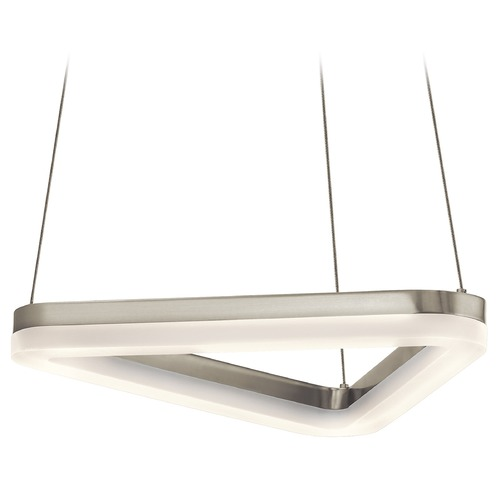 Elan Lighting Elan Lighting Paiva Brushed Nickel LED Pendant Light 83720