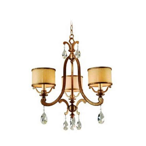 Corbett Lighting Corbett Lighting Roma Classic Bronze Chandelier 86-03