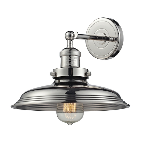 Elk Lighting Sconce Wall Light in Polished Nickel Finish 55010/1