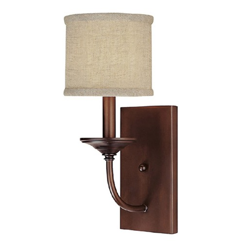 Capital Lighting Capital Lighting Loft Burnished Bronze Sconce 1981BB-468