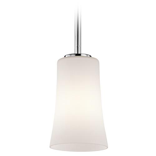 Kichler Lighting Kichler Lighting Armida Mini-Pendant Light with Bowl / Dome Shade 43077CH