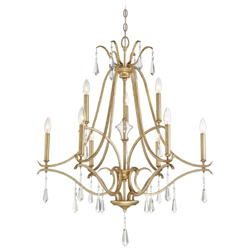 Minka Lavery Minka Laurel Estate Brio Gold Crystal Chandelier 4449-582