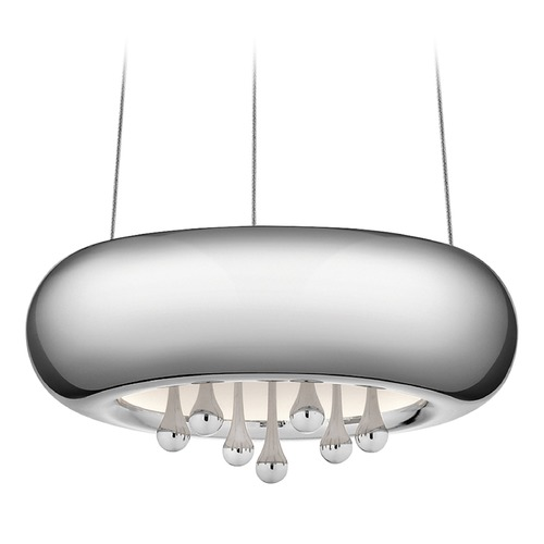 Elan Lighting Elan Lighting Lavelle Chrome LED Pendant Light 83729