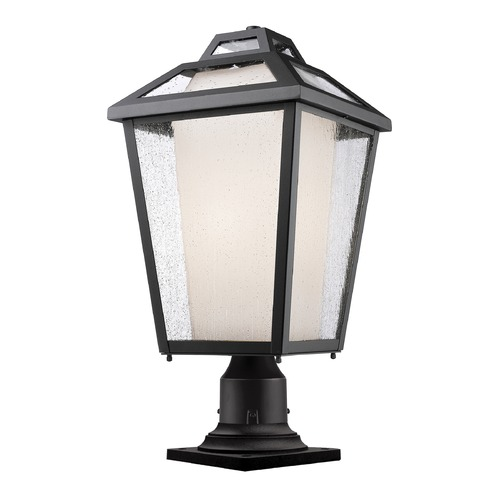 Z-Lite Z-Lite Memphis Outdoor Black Post Light 532PHBR-533PM-BK