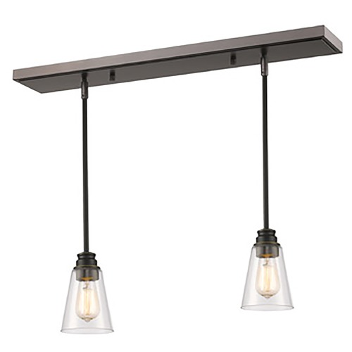 Z-Lite Z-Lite Annora Olde Bronze Multi-Light Pendant with Conical Shade 428MP-2OB