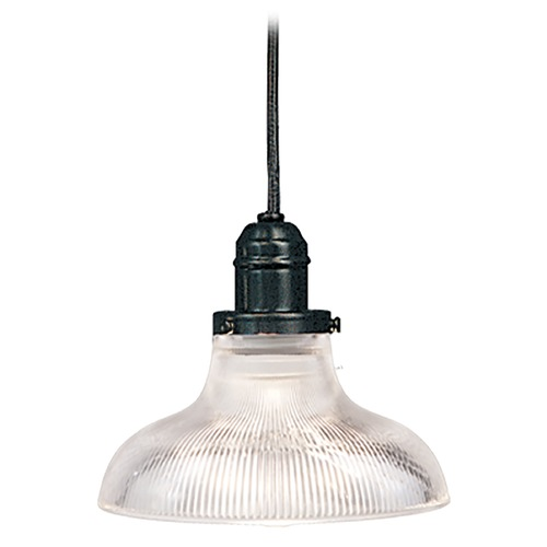 Hudson Valley Lighting Mini-Pendant Light with Clear Glass 3101-OB-R08