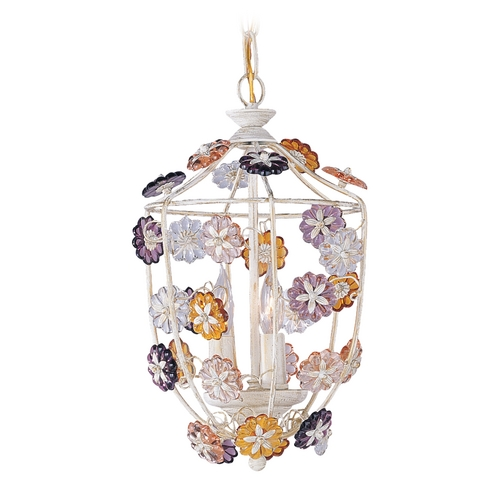 Crystorama Lighting Crystal Mini-Pendant Light 5313-AW