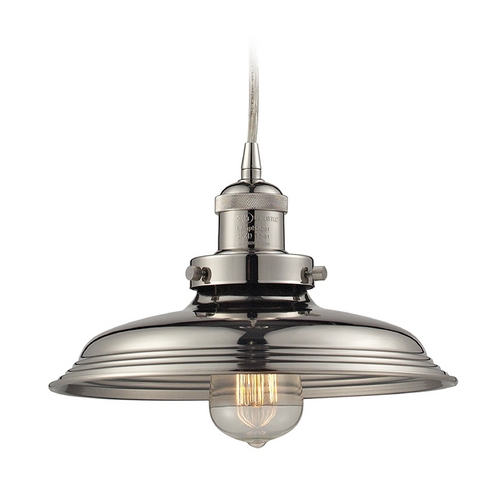 Elk Lighting Pendant Light in Polished Nickel Finish 55011/1
