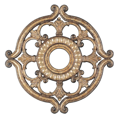 Livex Lighting Livex Lighting Vintage Gold Leaf Ceiling Medallion 8216-65