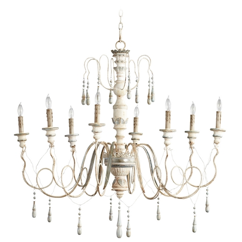 Cyan Design Cyan Design Chantal Parisian Blue Chandelier 05714