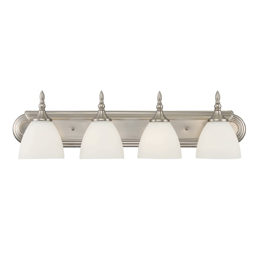 Savoy House Savoy House Lighting Herndon Satin Nickel Bathroom Light 8-1007-4-SN