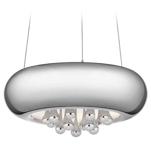 Elan Lighting Elan Lighting Lavelle Chrome LED Pendant Light 83730