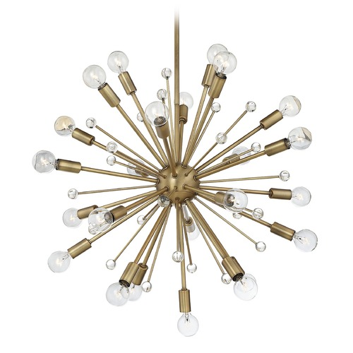 Savoy House Savoy House Lighting Galea Warm Brass Chandelier 7-6099-24-322
