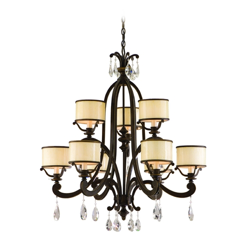 Corbett Lighting Corbett Lighting Roma Classic Bronze Chandelier 86-09