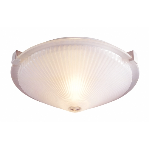 Lite Source Lighting Lite Source Lighting Sanddollar Frost Flushmount Light LS-5372FRO