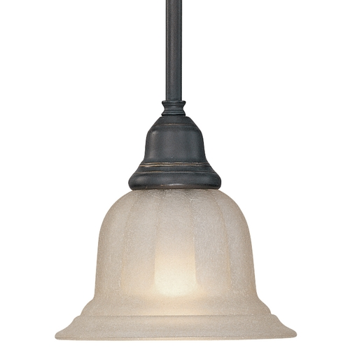 Dolan Designs Lighting Mini-Pendant with Caramelized Glass 649-78