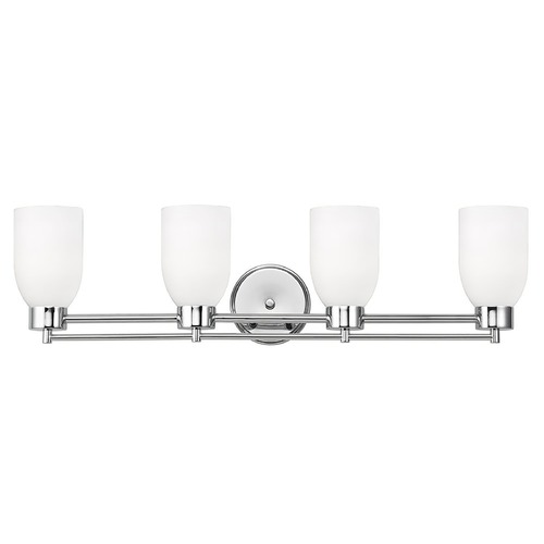 Design Classics Lighting Design Classics Salida Fuse Chrome Bathroom Light 704-26 GL1028D