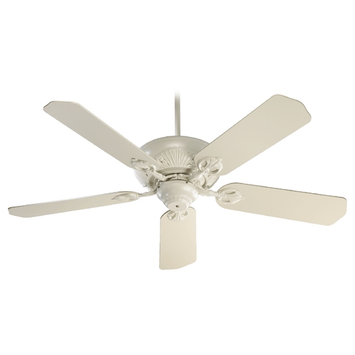Quorum Lighting Quorum Lighting Chateaux Antique White Ceiling Fan Without Light 78525-67