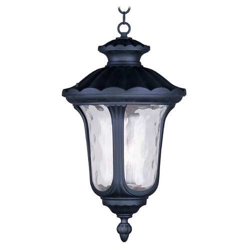 Livex Lighting Livex Lighting Oxford Black Outdoor Hanging Light 7865-04
