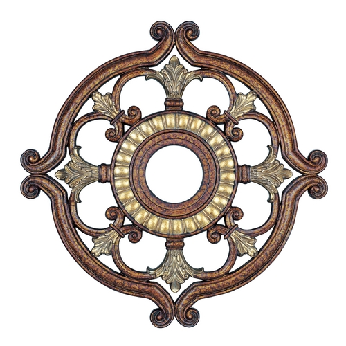 Livex Lighting Livex Lighting Palacial Bronze with Gilded Accents Ceiling Medallion 8216-64