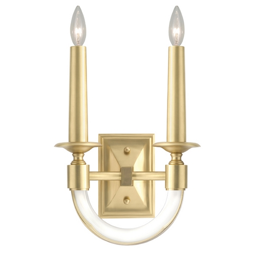 Fine Art Lamps Fine Art Lamps Grosvenor Square Antique Brass Sconce 846450-2ST