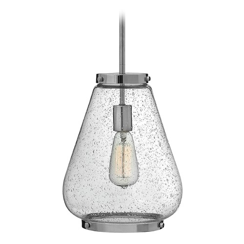 Hinkley Lighting Hinkley Lighting Finley Chrome Mini-Pendant Light with Urn Shade 3684CM