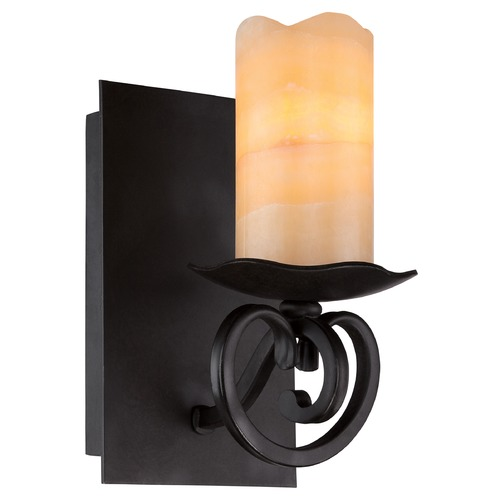 Quoizel Lighting Quoizel Armelle Imperial Bronze Sconce AME8701IB