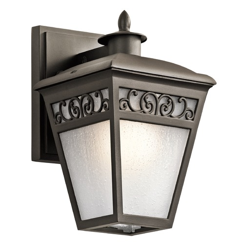 Kichler Lighting Kichler Lighting Park Row Olde Bronze Outdoor Wall Light 49611OZ