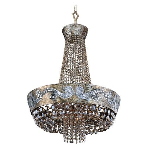 Allegri Lighting Romanov 24in Dia Chandelier 024052-006-FR005