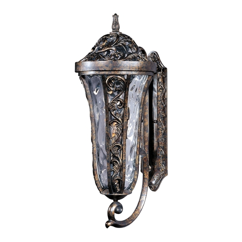 Maxim Lighting Outdoor Wall Light with Clear Glass in Tortoise Finish 40144WGTR
