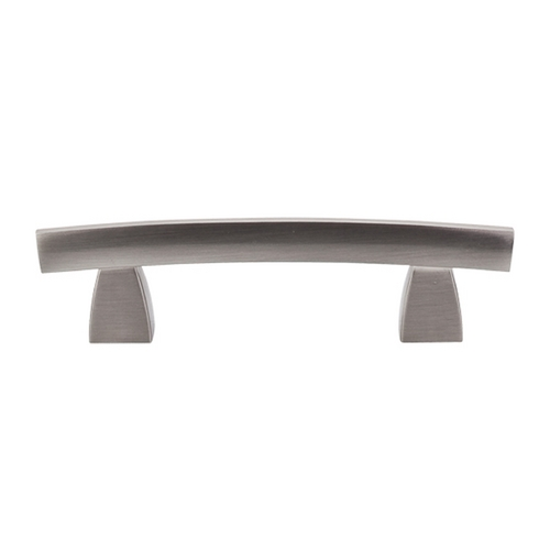 Top Knobs Hardware Modern Cabinet Pull in Brushed Satin Nickel Finish TK3BSN