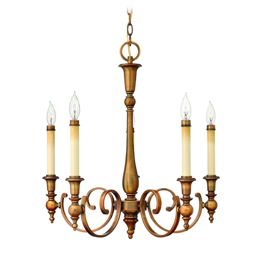 Hinkley Lighting Chandelier in Brushed Bronze Finish 3625BR