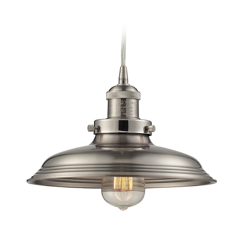 Elk Lighting Pendant Light in Satin Nickel Finish 55021/1